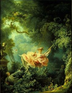 The swing rococo painting mla